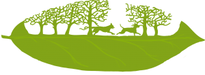 Naturreservat for ikke-adopterbare hunder Logo